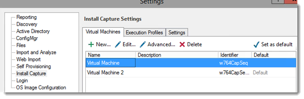 Figure 43: AppDNA virtual Machine